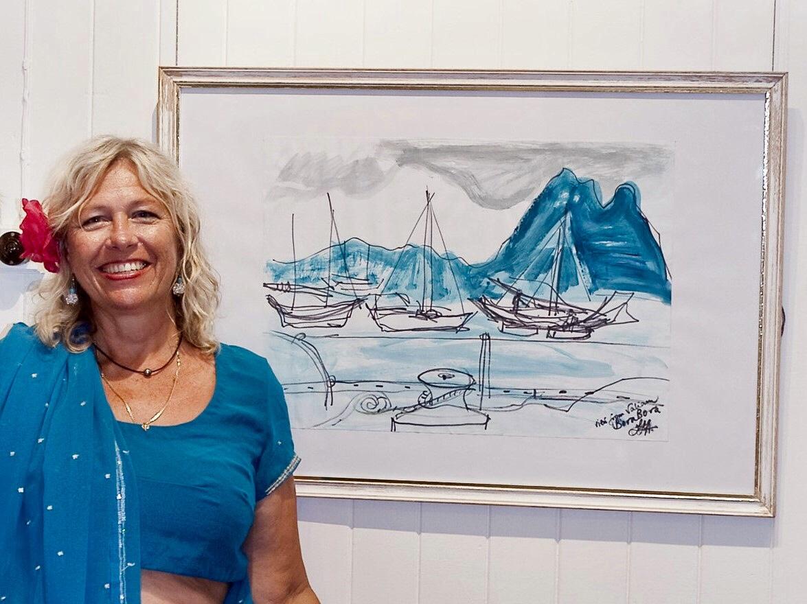 Linda Frylink Anderson – SCRIBBLING BAREFOOT